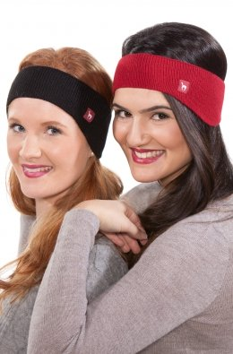 Uni Stirnband (Farbe: Rot   one-size)