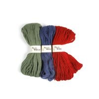 Kammgarn 100% Alpakawolle (Farbe: Rot)