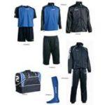 Fußballset -Set  Silverkit  8-teilig royal / blau (Größe: L)