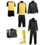 Fußballset -Set  Silverkit  8-teilig -gelb (Größe: L)
