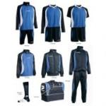 Fußballset -Set Goldkit  13-teilig -royalblau /blau (Größe: 3XS)