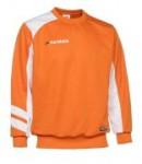 Trainingssweater VICTORY 110 v.PATRICK orange/weiß (Größe: M)