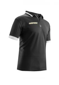 Poloshirt  4 Stelle von Acerbis ,  schwarz, Gr. 5XS - 3XL (Größe: 3XL)