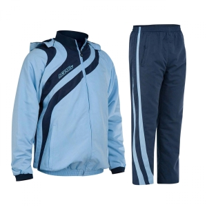 Kapuzen-Trainingsanzug  ALKMAN v. ACERBIS   royal /blau (Größe: 3XS)