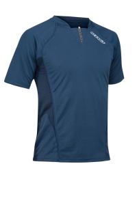 Kurzarm-Sport & Trainings-Shirt  ATLANTIS  v. ACERBIS , dunkelblau (Astro  dunkelblau: M)