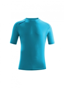 Kurzarm-Trainings-Shirt  ATLANTIS  v. ACERBIS , skyblau (Astro  dunkelblau: 2XL)