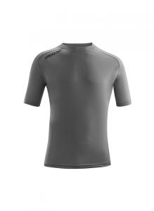 Kurzarm-Trainings-Shirt  ATLANTIS  v. ACERBIS , grau (Atlantis: S)