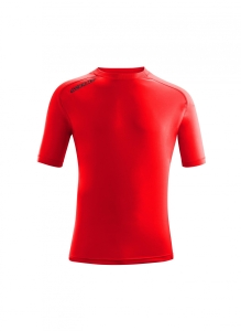 Kurzarm-Trainings-Shirt  ATLANTIS  v. ACERBIS , rot (Astro  dunkelblau: 3XS)