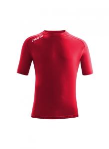 Kurzarm-Trainings-Shirt  ATLANTIS  v. ACERBIS , weinrot (Astro  dunkelblau: 5XS)