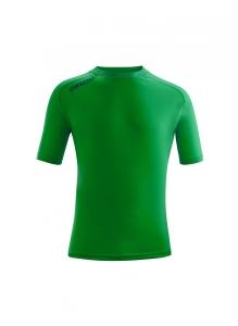 Kurzarm-Trainings-Shirt  ATLANTIS  v. ACERBIS , grün (Astro  dunkelblau: S)