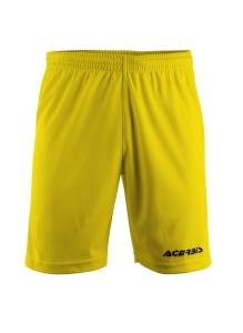 kurze Fußballhose ASTRO v. ACERBIS,  gelb (Größe: 2XS)