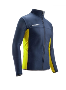 Trainingsjacke  BELATRIX  v. ACERBIS  blau / gelb (Größe: S)