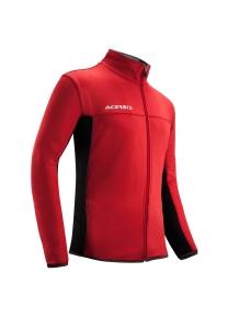 Trainingsjacke  BELATRIX  v. ACERBIS  rot / schwarz (Größe: S)