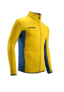 Trainingsjacke  BELATRIX  v. ACERBIS  gelb / blau (Größe: S)