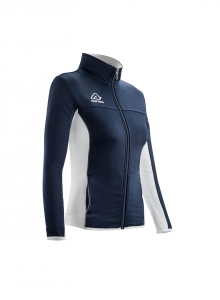 Frauen -Trainingsjacke  BELATRIX  v. ACERBIS  blau/weiß (Größe: S)