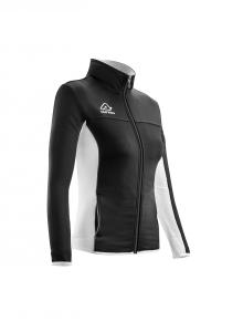 Frauen -Trainingsjacke  BELATRIX  v. ACERBIS  schwarz/weiß (Größe: M)