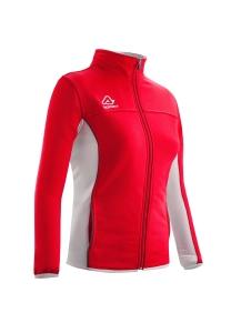 Frauen -Trainingsjacke  BELATRIX  v. ACERBIS  rot / weiß (Größe: S)