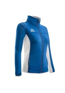 Frauen -Trainingsjacke  BELATRIX  v. ACERBIS  hellblau/weiß (Größe: S)