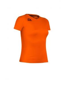 Mädchen und Damen Sport -Trikot -DEVI  v.  Acerbis , orange (Größe: S)