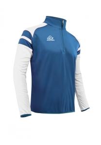 Trainingssweater Kemari v. ACERBIS ,  royalblau-weiß (Größe: 3XL)