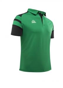 Poloshirt  Kemari von Acerbis , grün - schwarz , Gr. 5XS-4XL (Größe: 4XS=  Gr. 120-132)