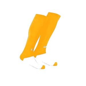 Fußball-Strumpfstutzen Mondial v. LEGEA gelb (Farbe gelb: sen. ab Gr. 40 ---  1 Paar)
