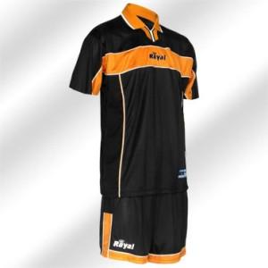 Royal-Trikot-Set - PILOT - Fußball Trikot u. Hose orange (Größe: XL)