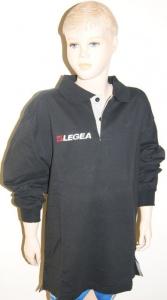 Sweatshirt Langarm  OCCIDENTE v. LEGEA , schwarz (Größe: S)