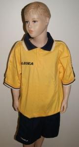 Sport-Set ( Polo+Hose) Olimpico v.LEGEA gelb (Größe: XS)