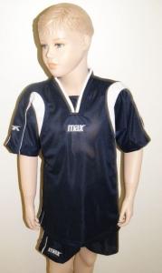 Max-Trikot-Sets - BERNA - Fußball Trikot u. Hose blau (Größe: XS)