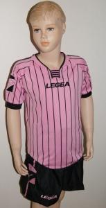 14 x Legea-Trikot-Sets -ZANTE  schwarz / rosa (Größe: 14 x 2XS - fällt 1 Nr. kleiner aus  3XS)