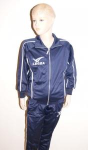 Trainingsanzug BRASILE v. LEGEA dunkelblau (Größe: S)