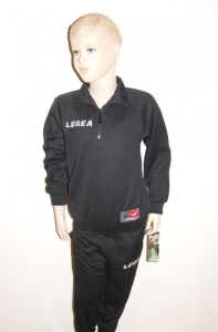 Trainingsanzug GRECIA v. LEGEA schwarz (Größe: 3XS)