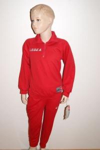 Trainingsanzug GRECIA v. LEGEA  rot (Größe: XS)