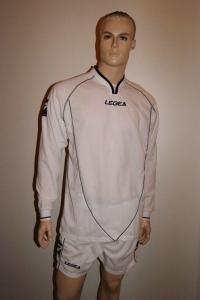 Legea-Trikot-Set - Londra  weiß - Fußball Trikot u. Hose (Größe: M)