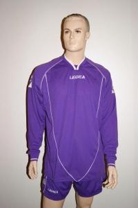 14 Legea-Trikot-Sets - Londra  lila - Fußball 14 Trikots m. Hosen (Größe: XL)
