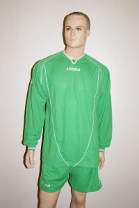 Legea-Trikot-Set - Londra grün - Fußball Trikot u. Hose (Größe: S)