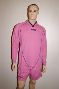 Legea-Trikot-Set - Londra  rosa- Fußball Trikot u. Hose XL (Größe: XL)