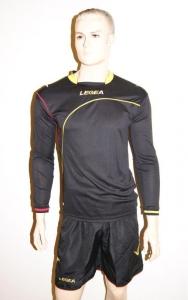 Fußball-Trikot-Set-Dortmund von LEGEA schwarz / gelb (Größe: L)