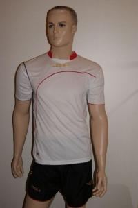 Fußball-Trikot-Set Ginevra von LEGEA weiß / schwarz (Größe: XL)