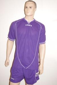 Legea-Trikot-Set - Scudo lila - Fußball Trikot u. Hose (Größe: 2XS)