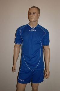 Legea-Trikot-Set - Scudo hellroyalblau - Fußball Trikot u. Hose (Größe: 2XS)