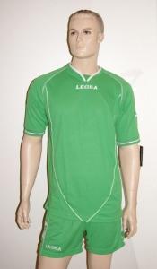 Legea-Trikot-Set - Scudo hellgrün - Fußball Trikot u. Hose (Größe: L)