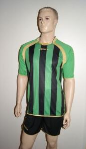 Legea-Fußball-Trikot-Set  DUBAI grün / schwarz (Größe: XL)