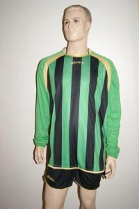 Legea-Fußball-Trikot-Set - RIAD grün / schwarz (Größe: XXL)
