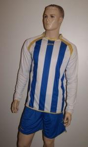 Legea-Fußball-Trikot-Set - RIAD weiß / azur (Größe: XXL)