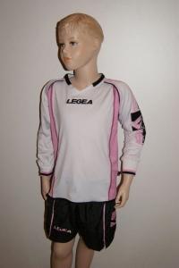 14 x Legea-Fußball-Trikot-Sets -Bruxelles rosa / schwarz (Größe: 14 x 2XS -    fällt 1 Nr. kleiner aus 3XS)