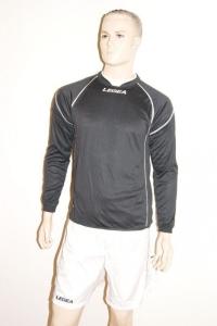 Legea-Fußball-Trikot-Set - Davos - Fußball  schwarz / weiß (Größe: S)