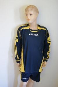 Legea-Trikot-Sets -SPARTA   blau / gelb (Größe: S - fällt 1 Nr. kleiner aus  XS)