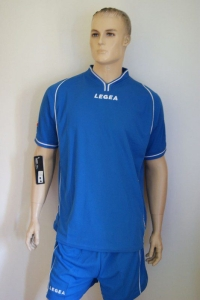 14 Legea-Fußball-Trikot-Sets - VIGO  royal (Größe: 14 x in S)
